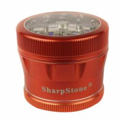 sharpstone-4-piece-v2-grinder-pollinator-colored-w-clear-top-22-red