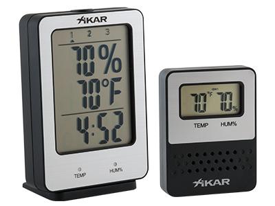 Xikar-PuroTemp-Wireless-Hygrometer