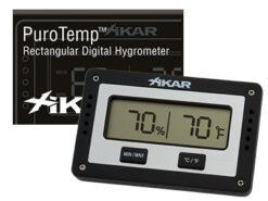 Xikar-Rectangular-hygrometer