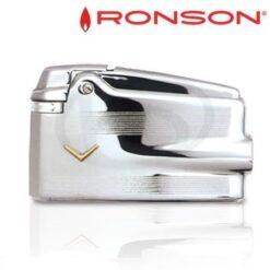 Ronson Varaflame Silver V